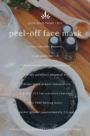 diy l off charcoal face mask that won t rip your face off