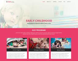 Kids School Website Template 18 Best Free Education Html Website Templates 2019