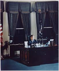oval office history. File:Portrait Of President Kennedy At His Desk. White House, Oval Office - History