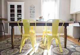 dining room chair colors. mellow yellow dining room chair colors