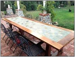 elegant tile top patio table for tile top patio table 67 diy tile table top patio