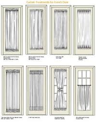 french doors with curtains. Curtain Treatments For French Doors With Curtains O