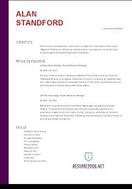 Resume Examples 2016 Top Resume Samples Resume Formats Marketing