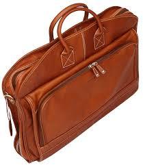 cortez colombian leather soft garment bag suiter suit carrier dress case travel case