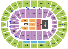 Luke Combs Seating Chart Luke Combs Tulsa Tickets 2019 Luke Combs Tickets Tulsa Ok