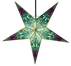 Faltbarer Advents Leucht Papierstern Weihnachtsstern Marwin