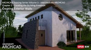 Creating Exterior Walls ARCHICAD Training Series    YouTube - Exterior walls