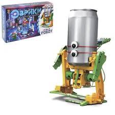 <b>Конструктор</b>-робот 6 в 1 на <b>солнечной батарее</b>.