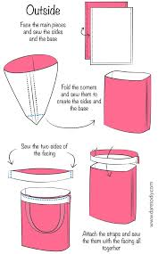 Tote Bag Pattern Unique Dare To DIY In English DIY Tutorial How To Make A Tote Bag Çanta