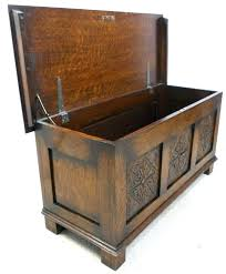 blanket storage chest blanket chests storage chests carved front oak blanket chest storage box sold blanket blanket storage chest