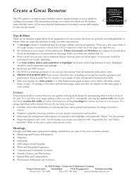 how to write a really good resumes creating resumes nguonhangthoitrang net