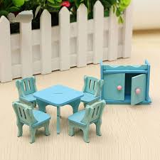 kids dollhouse furniture. wooden dollhouse furniture doll house miniature dinning room set kids role play toy kit e