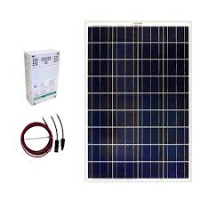 solar panel kits alternative energy solutions the home depot how to properly fuse a solar pv system at Solar Panel Fuse Box