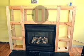 build indoor fireplace how to build a indoor fireplace framing the electrical fireplace insert and or