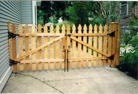 fence next to driveway. wood gates for driveways standard fencing co inc fence next to driveway