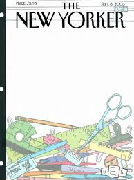 The New Yorker Me September 2016