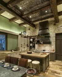 Rustic Industrial Kitchen 38 Quaint Contemporary Cottage Kitchens Pictures
