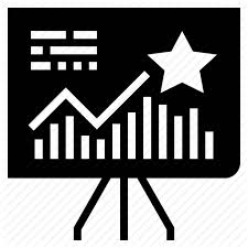 Chart Track Customer Loyalty Program Glyph By Becris