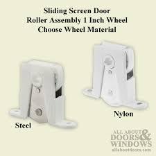 replacing sliding screen door rollers saudireiki