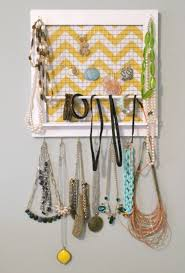 how to make a picture frame jewelry organizer
