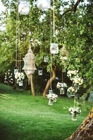awesome vine theme decor for garden birthday party using gl jars