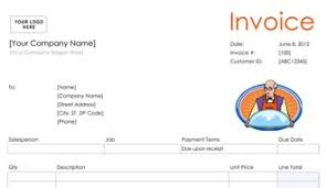 Free Catering Invoice Template