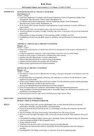 Technical Skills In Resume For Mechanical Engineer Mechanical Project Engineer Resume Samples Velvet Jobs