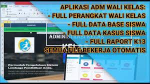 There was a problem previewing aplikasi administrasi guru wali kelas versi baru.xlsm. Cara Membuat Aplikasi Administrasi Atau Perangkat Wali Kelas Keren Dengan Excel Youtube