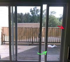 sliding glass dog door