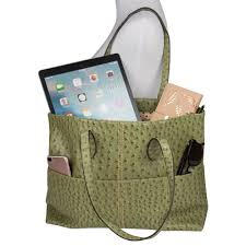 ... Olive LG Optimus Q L55c - Dual Front Pocket Tote Shoulder Bag with back  Zipper, ...