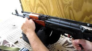 beautiful romanian ak 47 wasr 1063 with custom wood furniture intended for ak wood furniture