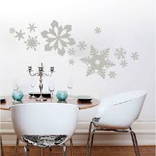 snowflake wall decals zoom