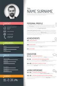Resume Template Ai Best of Adobe Illustrator Cv Template Free Fastlunchrockco