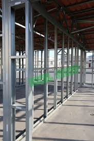 interior metal framing. Drywall Interior Metal Stud And Track Wall Framing