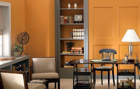 orange wall paint10 Wall Color Ideas to Try in Your Home