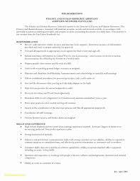 Entry Level Hr Resume Fresh Human Resource Resume Template Free