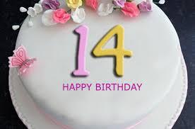 14th Birthday Cake With Name Editor 2happybirthday