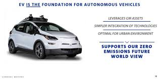 GM links electric vehicle effort to autonomous driving in attempt ...