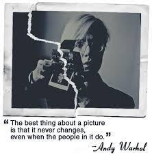 Andy Warhol Quotes Magnificent Andywarholquotepolaroids Tomorrow Started