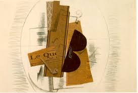georges braque violin and pipe le in 1913