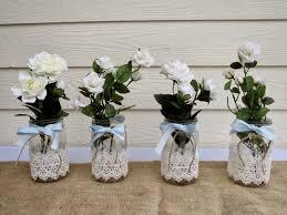 Mason Jar Decorations For A Wedding Mason Jar Centerpieces For Weddings Homemade Mason Jars Wedding 29