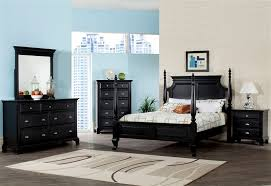 four poster bedroom furniture. Canterbury Poster Bed 6 Piece Bedroom Set In Black Finish By Acme - 10430 Four Furniture