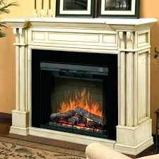 most realistic electric fireplace insert framed real looking