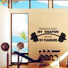 fitness motivational quotes wall art decals decor gym studio wall decal vinyl sticker fitness on motivational wall art for gym with fitness motivational quotes wall art decals decor gym studio wall