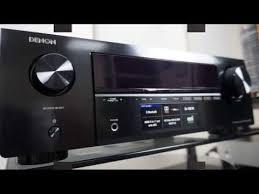 <b>Denon AVR</b>-X250BT обзор <b>AV</b>-<b>ресивера</b> - YouTube