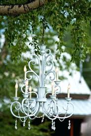 chandeliers for outdoor peachy battery operated chandelier home decor dining room pertaining to prepare 1 gazebos with c