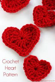 Heart Crochet Pattern Best Crochet Heart Patterns