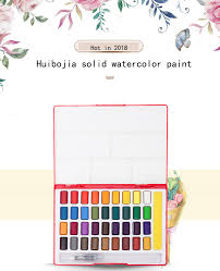 Faber Castell 24/36/48Color Solid Watercolor Paint Box With ...