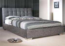 Full Upholstered Bed Frame Bedroom Luxurious Bedroom Design With Upholstered Bed Frame