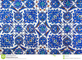 geometric ottoman pattern stock photography  image